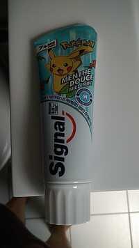 Signal - Pokémon - Dentifrice à la menthe douce 7ans