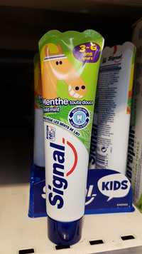 Signal - Kids 3-6 years - Dentifrice menthe toute douce