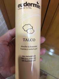 Eudermin - Talco absorbe la humedad
