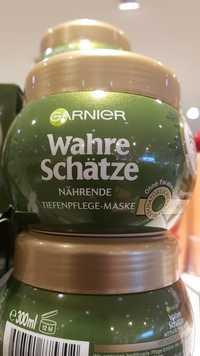 GARNIER - Wahre schätze - Nährende, tiefenpflege-maske