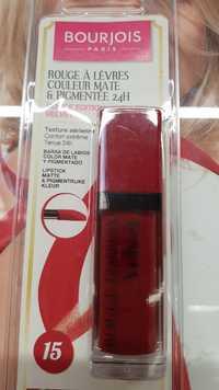 Bourjois - Rouge à lèvres couleur mate & pigmentée 24h