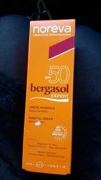 NOREVA - Bergasol expert - Crème minérale SPF 50