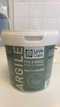 LA VIE CLAIRE - Pâte d'argile multi-usages