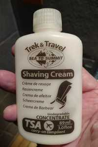 TREK & TRAVEL - Sea to summit - Crème de rasage