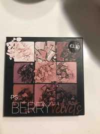 Primark - Berry velvets - Ombre à paupières