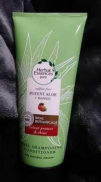 HERBAL ESSENCES - Potent Aloe + Mango - Après shampooing