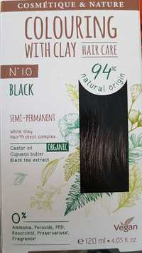 CATTIER - N° 10 Black - Colouring with clay hair care