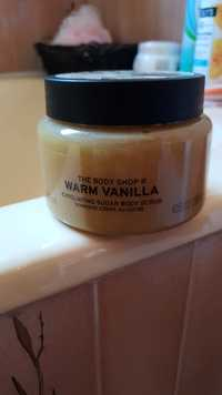 THE BODY SHOP - Warm vanilla - Gommage corps au sucre