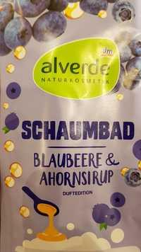 Alverde - Schaumbad blaubeere & ahornsirup
