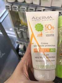 A-Derma - Protect AD - Crème haute protection SPF 50+