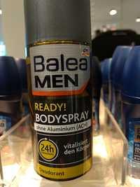 Balea - Men Ready! Bodyspray - Déodorant 24h