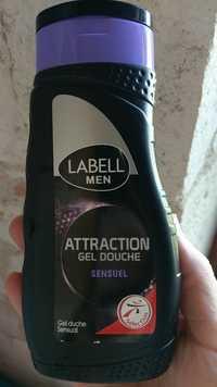 LABELL - Men attraction gel douche sensuel