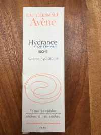 Avène - Hydrance optimale riche Crème hydratante