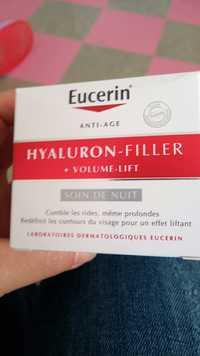 Eucerin - Hyaluron-filler + volume-lift - Soin de nuit anti-âge