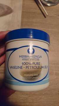 Herbamedicus - Vaseline 100% pure petroleum jelly parfume-free