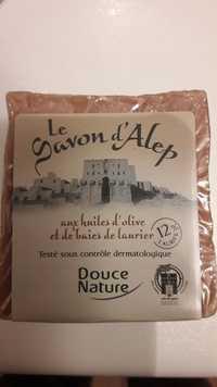Douce Nature - Le savon d'Alep - Aux huiles d'olive et de baies de laurier