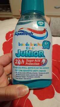 Aquafresh - Bain de bouche élixir Junior