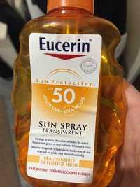 Eucerin - Sun protection - Spray transparent peau sensible spf 50