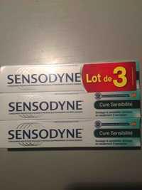 SENSODYNE - Cure sensibilité - Dentifrice