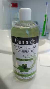 GAMARDE - Shampooing tonifiant menthe poivrée
