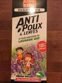Cinq sur cinq - Shampooing anti-poux et lentes