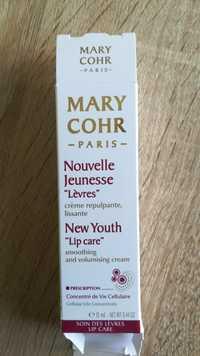 MARY COHR - Nouvelle jeunesse lèvres - Crème repulpante, lissante
