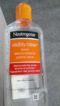 Neutrogena - Visibly clear - Lotion désincrustante points noirs