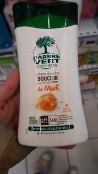 L'Arbre vert - Crème douche aux extraits bio de miel