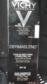 VICHY - Dermablend - Fond de teint fluide correcteur SPF 15 vanilla 20