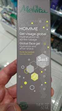 Melvita - Homme - Gel visage global 3 en 1