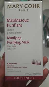 MARY COHR - MatiMasque purifiant