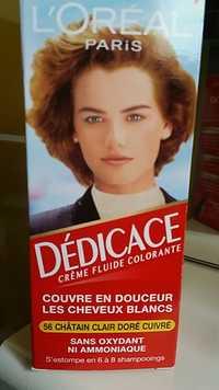 L'Oréal - Dédicace - Crème fluide colorante 56 chatain clair doré cuivré