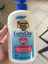 BANANA BOAT - Everyday - Sunscreen lotion spf 50+