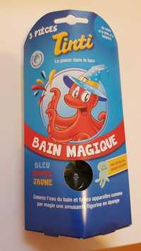 TINTI - Bain magique - Bleu - Rouge - Jaune