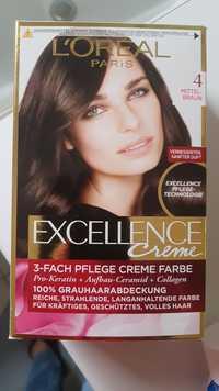 L'ORÉAL - Excellence crème 4 mittel-braun