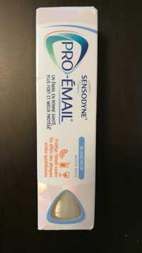 SENSODYNE - Pro-émail blancheur menthe douce - Dentifrice
