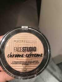 Maybelline - Face studio chrome extrême - Poudre enlumineur métalique intense