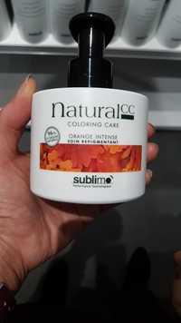 SUBLIMO - Natural CC - Soin repigmentant orange intense