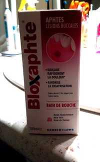 Bloxaphte - Aphtes lésions buccales - Bain de bouche