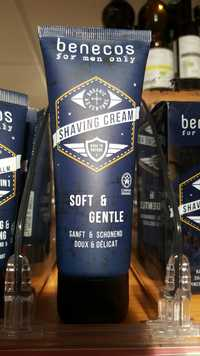 BENECOS - Soft & gentle - Shaving cream for men only