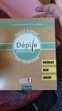 DÉPILE - Beauté & sport - Argile dépilatoire d'Auvergne