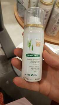 KLORANE - Shampooing sec extra-doux au lait d'avoine