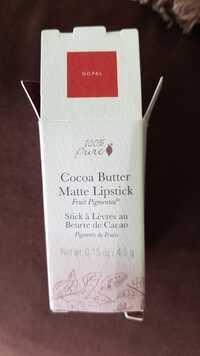 100 percent pure - Stick à lèvres au beurre de cacao