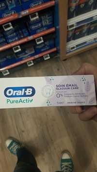 Oral B - Pureactiv - Soin émail menthe douce
