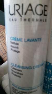 Uriage - Eau thermale - Crème lavante