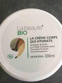 MONOPRIX - La crème corps qui hydrate