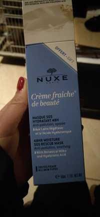 NUXE - Crème fraîche de beauté - Masque SOS hydratant 48h