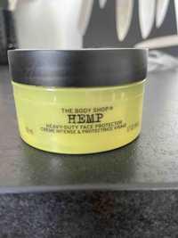 THE BODY SHOP - Hemp - Crème intense & Protectrice visage