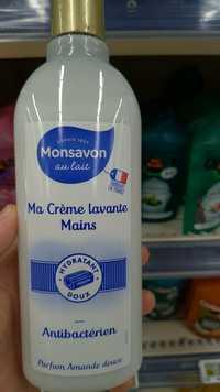 Monsavon - Ma crème lavante mains