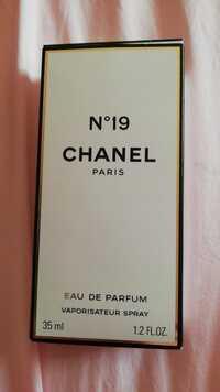 CHANEL - Eau de parfum n° 19
